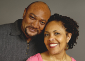 Photo of a couple smiling. Link to Life Stage Gift Planner Under Age 60 Gifts.